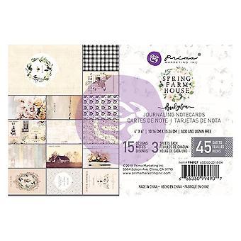 Prima Marketing Spring Farmhouse 4x6 Paper Pad