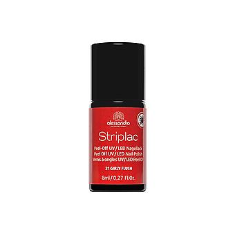 StripLAC Peel Off UV LED Nail Polish - Girly Flush 8mL (31)