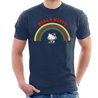 Hello Kitty Under The Rainbow Men's T-Shirt