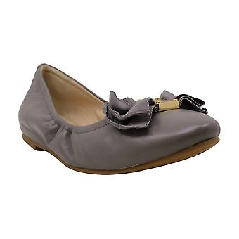 Cole Haan Womens Tali Bow Ballet Leather Closed Toe Ballet Flats