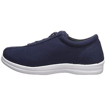 Apex Women's Ellen-Canvas-Navy Sneaker