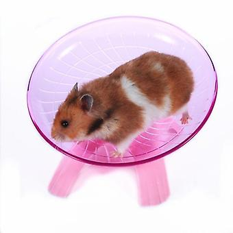 Pet Hamster Flying Saucer Ejercicio Rueda Hamster Mouse Running Disc Toy Cage