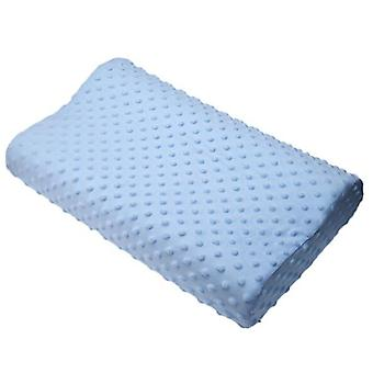 Memory Foam Cuscino ortopedico per dormire, fibra collo in lattice lento rimbalzo morbido
