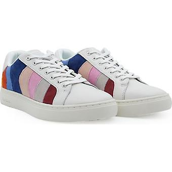 Paul Smith Lapin Suede Striped Trainers