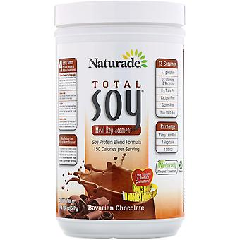 Naturade, Total Soy, Meal Replacement, Bavarian Chocolate, 17.88 oz (507 g)