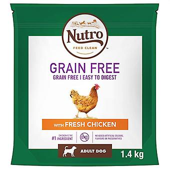 Nutro Dog Dry Grain Free Adult Medium With Chicken - 1.4kg