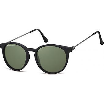 Sunglasses Unisex Panto matt black (S33E)