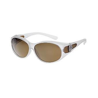 Óculos de Sol Conversão Unissex VZ-0032C branco