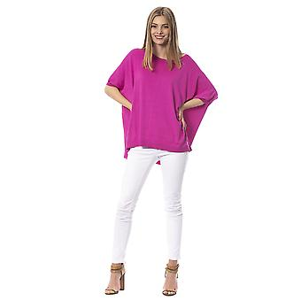 Trussardi Jeans P Fuxia Sweater TR856278-XS