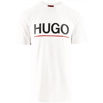 HUGO Wit Dolivio T-shirt