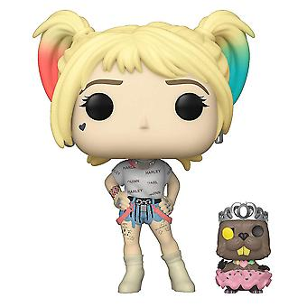 Birds of Prey Harley Quinn with Beaver Pop! Vinyl