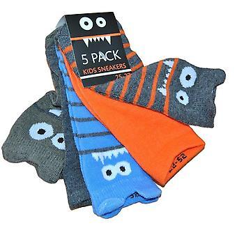 5-Pack Socken - Monster