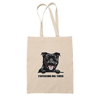 Staffordshire Bull Terrier Einkaufstasche Hund Einkaufstasche Einkaufstasche
