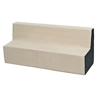 Kindersofa meubel schuim beige & grijs