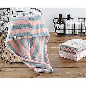 Microfiber Magic Bathing Quick Dry Turban Wrap Hair Cap Towel