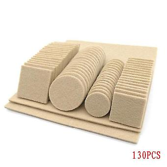 Furniture Chair Table Leg Self Adhesive Felt Pads Wood Floor Protectors Anti Scratch Top Quality