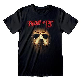 Friday The 13th Unisex Adult Mask T-Shirt
