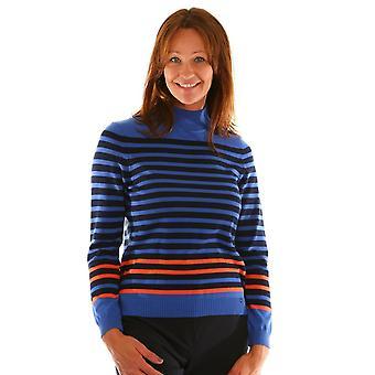GOLLEHAUG Gollehaug Blue Black And Orange Sweater 2024 11013