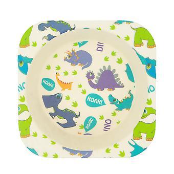 Tiny Dining Children's Bamboo Fibre Dining Bowl - Dinosaur
