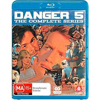 Danger 5: Series 1 & 2 [Blu-ray] USA import