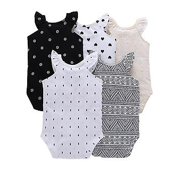 Baby Short Sleeve O-neck Bodysuit -unisex Clothes