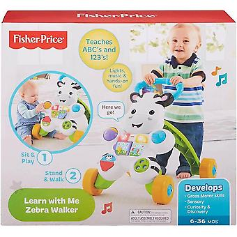 Fisher price learn with me zebra walker, baby or toddler walker and electronic