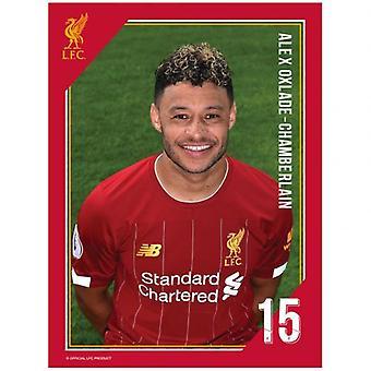 Liverpool Headshot Photo Oxlade-Chamberlain