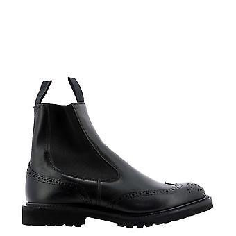 Tricker's Henryblack Men's Black Leather Ankle Boots