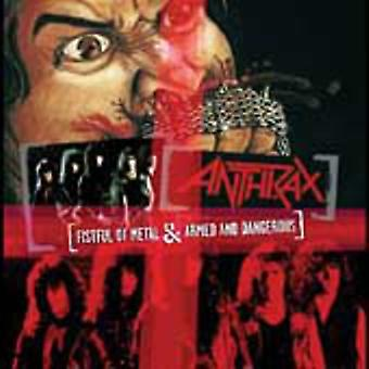 Anthrax - Fistful of Metal/Armed & Dangerous [CD] USA import