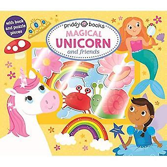 Let'S Pretend Magical Unicorn & Friends (Let's Pretend Sets) [Board book]