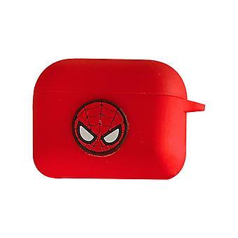 Schutzhülle Avengers Silikontasche für Apple AirPods Red (Spiderman)