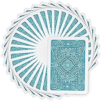 Modiano Texas Poker Jumbo - Light Blue