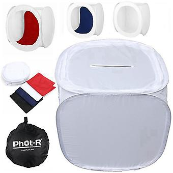 Phot-r® 50 x 50 x 50 cm profesionální fotostudio světlo stan soft box včetně.