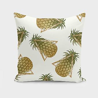 Ananas og trekanter pude / pude
