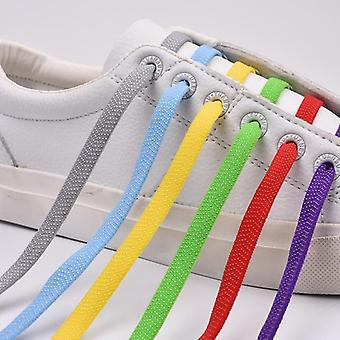 Quick Elastic Shoelaces Plat No Tie Cross Cataramă Lock Kids Adult Leisure