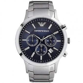 Armani AR2448 Emporio Gents Silver Stainless Steel Watch