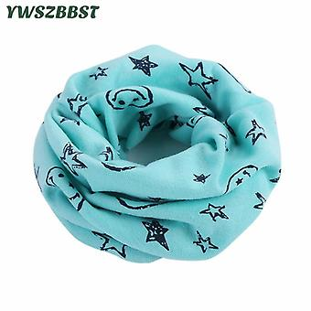 2021 New Cotton Baby Scarf Baby Bibs Autumn Winter Boys Girls Scarf O Ring