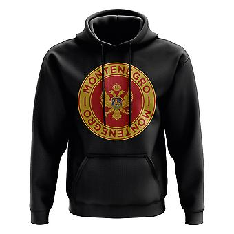 Montenegro Football Badge Hoodie (Black)