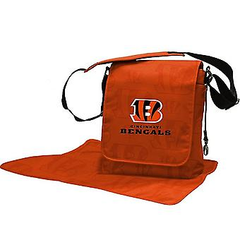 Cincinnati Bengals NFL LilFan Diaper Messenger Bag