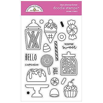 Doodlebug Design Makeat herkut Doodle-leimat