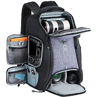 Beschoi Waterproof SLR Camera Bag, 25 liters Large Capacity Rucksack with Tripod Strap, Rain Cover
