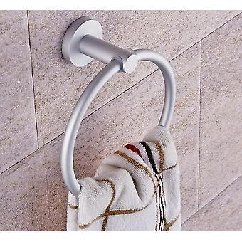 Porte-serviettes portatifs, bagues rondes en aluminium