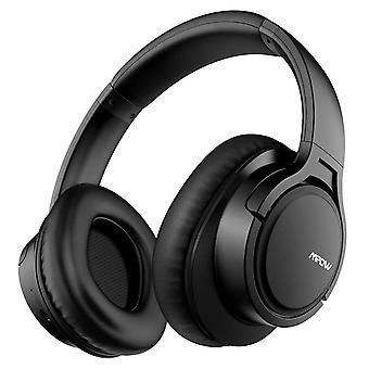 Mpow h7 wireless headphones over ear, hi-fi stereo bluetooth&wired headphones with cvc6.0 mic, lig