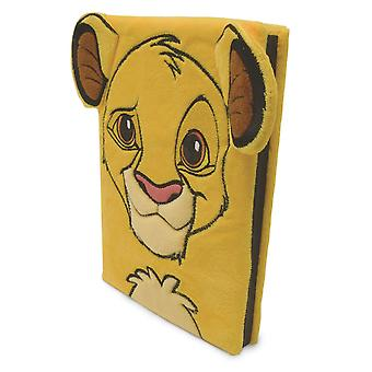 The Lion King Simba Furry A5 Notebook