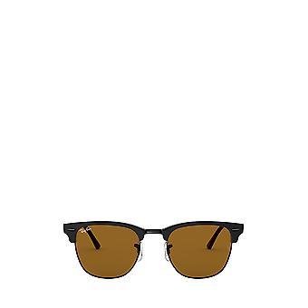 Ray-Ban RB3016 occhiali da sole unisex neri opachi