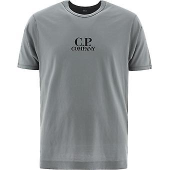 C.p. Företag 10cmts298a005689g938 Män's Grey Cotton T-shirt