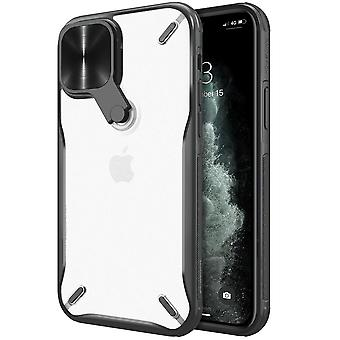 Nillkin Cyclops Case - för iPhone 12 Pro / iPhone 12 - svart