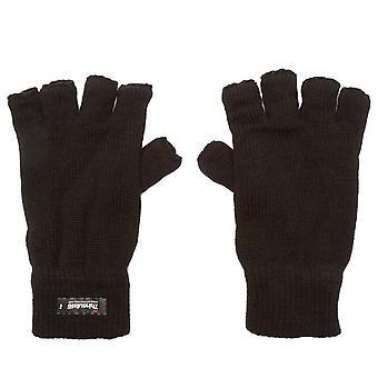 New Peter Storm Women's Thinsulate Fingerless Gloves Black