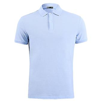 Clothing Men Polo Shirt, Business Casual, Male Short Sleeve Pure Cotton