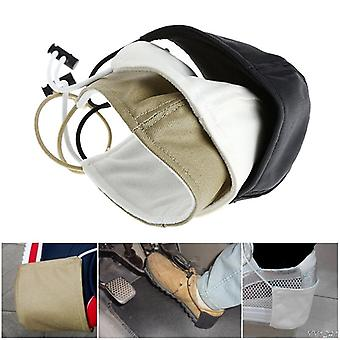 Shoes Heel Protector Drive Prevent Wear Shoe Cover Fabric Coat